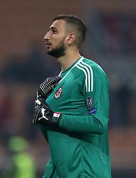 AC Milan Gianluigi Donnarumma in action