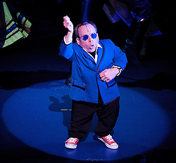 Warwick Davis as Prof..Snow White and the seven dwarfs, New Wimbledon Theatre, London, Great Britain, December 6, 2012.  2012. Photo by Elliott Franks / i-Images.