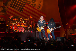 Lynyrd Skynyrd plays the Buffalo Chip during the 75th Annual Sturgis Black Hills Motorcycle Rally.  SD, USA.  August 4, 2015.  Photography ©2015 Michael Lichter.