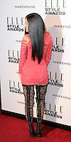 Jessie J, ELLE Style Awards, One Embankment, London UK, 18 February 2014, Photo by Richard Goldschmidt
