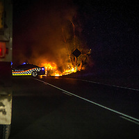 Ankatell Road Car Fire - March 25th 2015