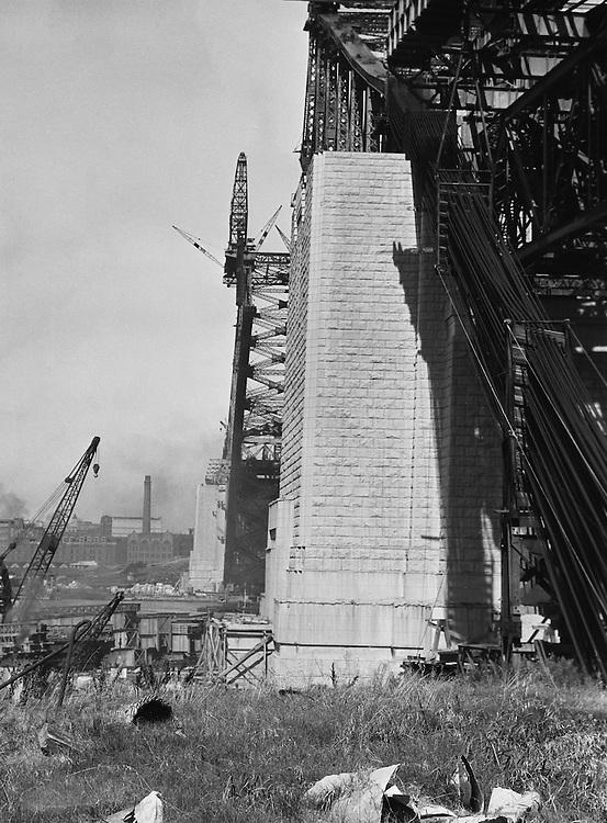 New North Shore Bridge, Sydney, Australia, 1930