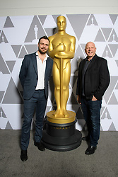 """Ed Perkins and Jonathan Chinn of the Oscar® nominated documentary short subject """"Black Sheep"""" prior to the Academy of Motion Picture Arts and Sciences' """"Oscar Week: Documentaries"""" event on Tuesday, February 19, 2019 at the Samuel Goldwyn Theater in Beverly Hills. The Oscars® will be presented on Sunday, February 24, 2019, at the Dolby Theatre® in Hollywood, CA and televised live by the ABC Television Network."""