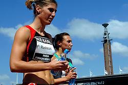 01-07-2007 ATLETIEK: NK OUTDOOR: AMSTERDAM<br /> Karin Ruckstuhl en Rosina Hodde<br /> ©2007-WWW.FOTOHOOGENDOORN.NL