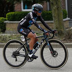 18-04-2021: Wielrennen: Amstel Gold Race women: Berg en Terblijt: Coryn Rivera