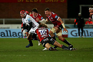 Bristol Bears Siale Piutau  during the Gallagher Premiership Rugby match between Gloucester Rugby and Bristol Rugby at the Kingsholm Stadium, Gloucester, United Kingdom on 12 February 2021.