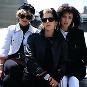 Bananarama 1982 Austria Siobhan Fahey, Karen Woodward and Sarah Dallin