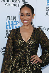 February 23, 2019 - Santa Monica, CA, USA - LOS ANGELES - FEB 23:  Dawn-Lyen Gardner at the 2019 Film Independent Spirit Awards on the Beach on February 23, 2019 in Santa Monica, CA (Credit Image: © Kay Blake/ZUMA Wire)