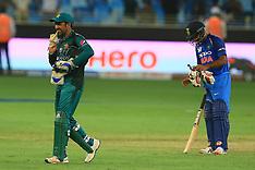 India v Pakistan - 19 Sept 2018