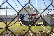 VERENIGDE STATEN-ANGOLA-De Louisiana State Prison. Camp J. COPYRIGHT GERRIT DE HEUS, UNITED STATES-ANGOLA-Louisiana State Penitentiary. Angola Prison.  Photo: Gerrit de Heus