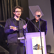 Recording engineer of the year winner Daniel Moyier attend The Music Producers Guild Awards at Grosvenor House, Park Lane, on 27th February 2020, London, UK.