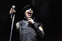 Travis Scott's Astroworld Festival 2019. 09 Nov 2019 Pictured: Marilyn Manson. Photo credit: Trish Badger/imageSPACE / MEGA TheMegaAgency.com +1 888 505 6342