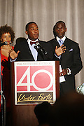 Stacy J., Reverend Conrad Tillard and Randal D. Pinkett at The Network Journal 40 under Forty 2008 Achievement Awards held at the Crowne Plaza Hotel on June 12, 2008