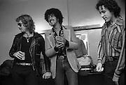 Thin Lizzy - Phil Lynott backstage 1979