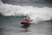 November 3rd  2010: Jared Neal driving off the bottom during round 1 of the ASP World Longboard Championship at Makaha Oahu-Hawaii. Photo by Matt Roberts/mattrIMAGES.com.au