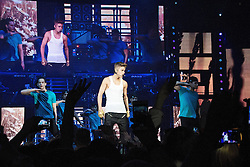 © Licensed to London News Pictures. 06/04/2013. Cologne, Germany Justin Bieber performs on the 6th April in Cologne, Germany. Photo credit : David Marée/LNP