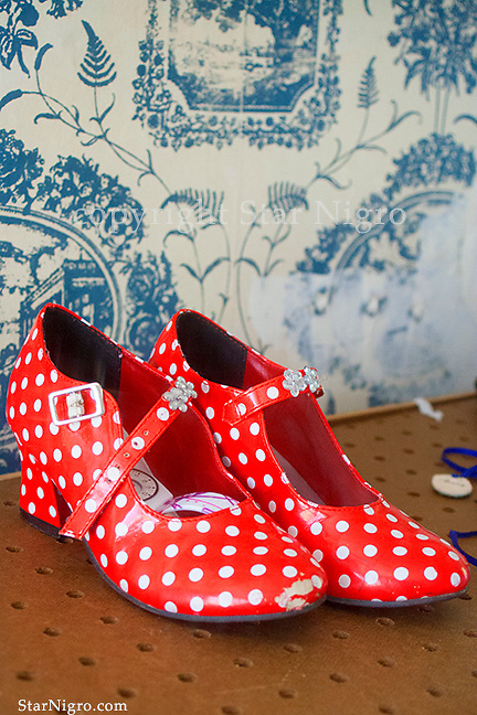 Red polk a dot shoes another unstaged moment to cute not to capture. photo by Star Nigro<br /> <br /> ©2021 All artwork is the property of STAR NIGRO.  Reproduction is strictly prohibited.