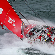 Leg 11, from Gothenburg to The Hague, day 03. Heli LIVE as the fleet blast south, eyes set on The Hague. 23 June, 2018.