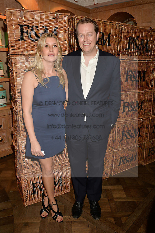 TOM & SARA PARKER BOWLES at a party to celebrate the publication of 'Let's Eat meat' by Tom Parker Bowles held at Fortnum & Mason, Piccadilly, London on 21st October 2014.