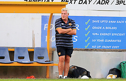 Hull City manager Steve Bruce watches from the touch line - Mandatory by-line: Matt McNulty/JMP - 19/07/2016 - FOOTBALL - One Call Stadium - Mansfield, England - Mansfield Town v Hull City - Pre-season friendly
