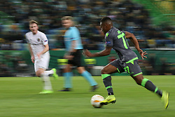 December 13, 2018 - Lisbon, Portugal - Sporting's forward Jovane Cabral from Cabo Verde in action during the UEFA Europa League Group E football match Sporting CP vs FC Vorskla Poltava at Alvalade stadium in Lisbon, Portugal on December 13, 2018  (Credit Image: © Pedro Fiuza/NurPhoto via ZUMA Press)