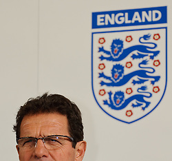 19.05.2010, Schloss Hotel Pichlarn, Irdning, AUT, FIFA Worldcup Vorbereitung, PK England, im Bild Fabio Capello, Teamchef England, EXPA Pictures © 2010, PhotoCredit: EXPA/ S. Zangrando / SPORTIDA PHOTO AGENCY