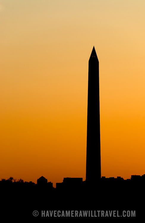 Washington Monument at night, Washington DC