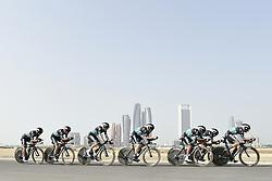 February 24, 2019 - Abu Dhabi, Emirati Arabi Uniti, Emirati Arabi Uniti - Foto LaPresse - Fabio Ferrari.24 Febbraio 2019 Abu Dhabi (Emirati Arabi Uniti).Sport Ciclismo.UAE Tour 2019 - Tappa 1 - Da Al Hudayriat Island a Al.Hudayriat Island - Crono squadre 16 km.Nella foto: BORA - HANSGROHE..Photo LaPresse - Fabio Ferrari.February 24, 2019 Abu Dhabi (United Arab Emirates) .Sport Cycling.UAE Tour 2019 - Stage 1 - From Al Hudayriat Island to.Al Hudayriat Island - TTT 9,9 miles.In the pic: BORA - HANSGROHE (Credit Image: © Fabio Ferrari/Lapresse via ZUMA Press)