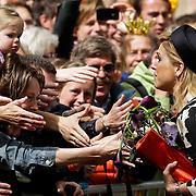 NLD/Middelburg/20100430 -  Koninginnedag 2010, Maxima