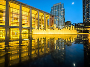Lincoln Center for the Performing Arts and Revson Fountain, NYC.