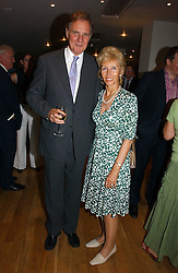 JONATHAN AITKEN and his wife ELIZABETH HARRIS at a party to celebrate the publication of Glass Houses by Sandra Howard held at Tamesa, Oxo Tower Wharf, Barge House Street, London SE1 on 5th September 2006.<br /><br />NON EXCLUSIVE - WORLD RIGHTS