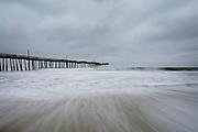 Frisco Pier at dawn, Cape Hatteras National Seashore, North Carolina