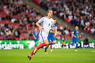 (9) Harry Kane during the FIFA World Cup Qualifier match between England and Slovakia at Wembley Stadium, London, England on 4 September 2017. Photo by Sebastian Frej.