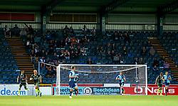 Bristol Rovers fans at Wycombe Wanderers - Mandatory by-line: Robbie Stephenson/JMP - 29/08/2017 - FOOTBALL - Adam's Park - High Wycombe, England - Wycombe Wanderers v Bristol Rovers - Checkatrade Trophy