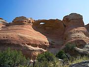 A natural arch at  Rattlesnake Canyon, Black Ridge Wilderness, Colorado Canyon National Conservation Area, near Grand Junction, Colorado, USA.