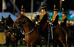 Members of the military perform - Photo mandatory by-line: Joe Meredith/JMP - Mobile: 07966 386802 - 10/09/14 - The Invictus Opening Ceremony - London - Queen Elizabeth Olympic Park