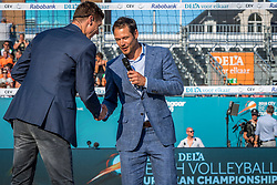 15-07-2018 NED: CEV DELA Beach Volleyball European Championship day 1<br /> Start of the DELA EC Beach Volleyball 2018 / Bas van de Goor, Reinder Nummerdor