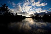 Belmonte_BA, Brasil...Por do sol no Rio Jequitinhonha em Belmonte...The sunset in Jequitinhonha river at Belmonte...Foto: LEO DRUMOND / NITRO