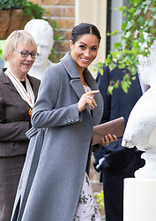 December 18, 2018 - Richmond, Surrey, United Kingdom - The Duchess of Sussex  visits the Royal Variety Charity's residential nursing and care home,Brinsworth House, Richmond. (Credit Image: © i-Images via ZUMA Press)