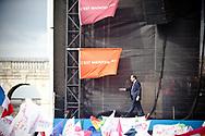 15042012. Vincennes. Election présidentielle 2012. Meeting du candidat François Hollande.