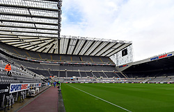General view of St James' Park before the game