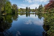 APELDOORN, 09-06-2021 , Kroondomein Het Loo<br /> <br /> Kroondomein Het Loo is een landgoed op de Veluwe, in de Nederlandse provincie Gelderland. Het is het grootste landgoed van Nederland en omvat ongeveer 10.400 hectare.<br /> <br /> Op de Foto: Veldvijver