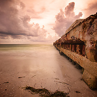 Coquina Beach: one of the most interesting stretches of shoreline in all of Florida.
