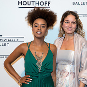 NLD/Amsterdam/20180324 - inloop première Dutch Doubles ballet, Eva Cleven en .........