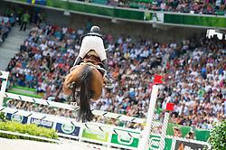 Patrice Delaveau, (FRA), Orient Express HDC - Show Jumping Final Four - Alltech FEI World Equestrian Gamesª 2014 - Normandy, France.<br /> © Hippo Foto Team - Jon Stroud<br /> 07-09-14