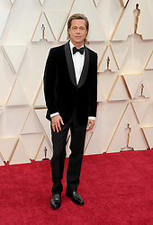 Brad Pitt at the 92nd Academy Awards held at the Dolby Theatre in Hollywood, USA on February 9, 2020.