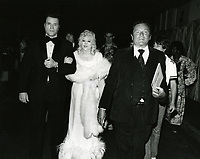 1979 Mae West arrives at the premiere of Hurricane at Mann's Chinese Theater