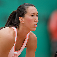 07 June 2007: during the French Tennis Open semi final won 6-2, 6-2 by Justine Henin over Jelena Jankovic on day 12 at Roland Garros, in Paris, France.