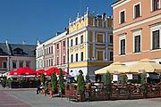 Rynek w Zamościu.