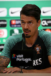 May 29, 2019 - Oeiras, Portugal - OEIRAS, PORTUGAL - MAY 29: Portugal's defender Jose Fonte attends a press conference before a training session, at Cidade do Futebol (Football City) training camp in Oeiras, Portugal, on May 29, 2019, in preparation for the UEFA Nations League Finals in Porto and Guimaraes, north Portugal, from June 5 to 9. (Credit Image: © Pedro Fiuza/NurPhoto via ZUMA Press)
